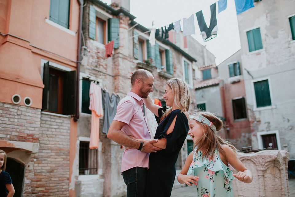 Venice Italy family photography