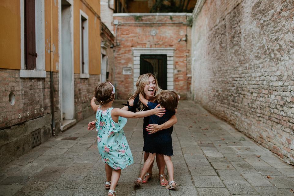 Venice Italy family photographers