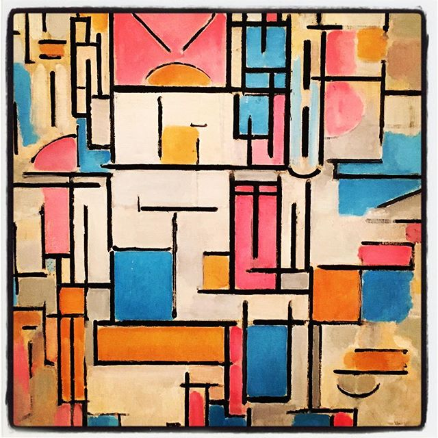 Piet Mondrian at MoMA