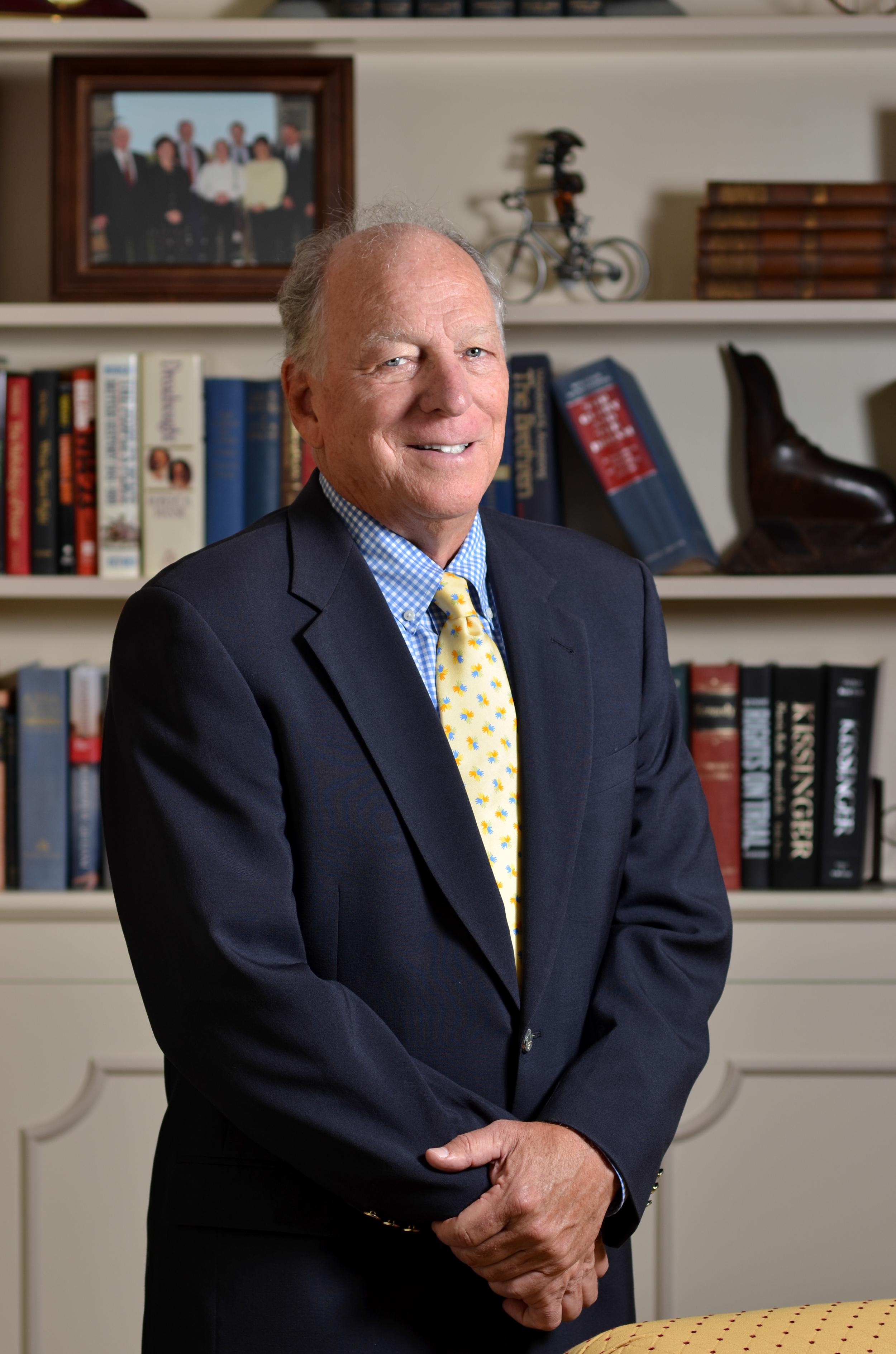 A portrait ofDick Christopher aretired Executive at Pattern Schwartz
