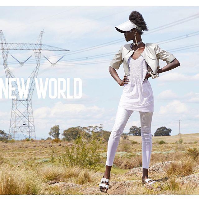 Brave New World 🌍  @pinkishlymojotastic @giant.management  HMUA @nicolegiardossimakeup  Stylist @key.to.style @fenhongsemag
