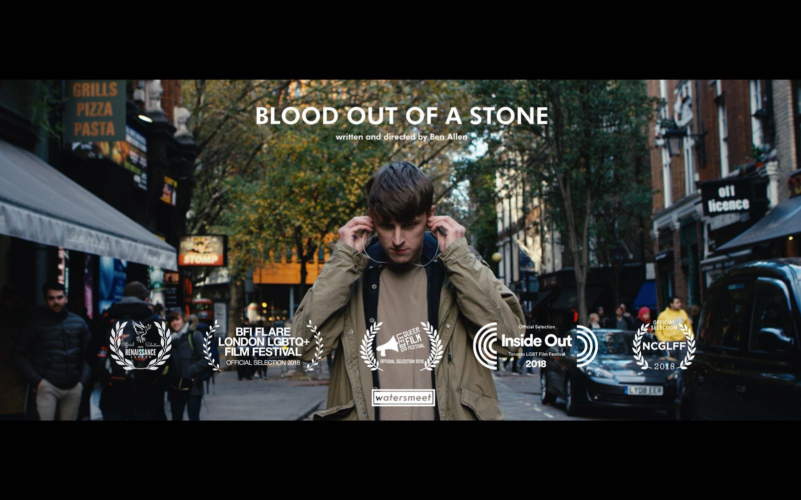 Blood Out of a Stone - Directed by Ben Allen   A young man is forced out of his comfort zone when he goes on an unconventional date. A multi-award winning short film from Watersmeet Productions.
