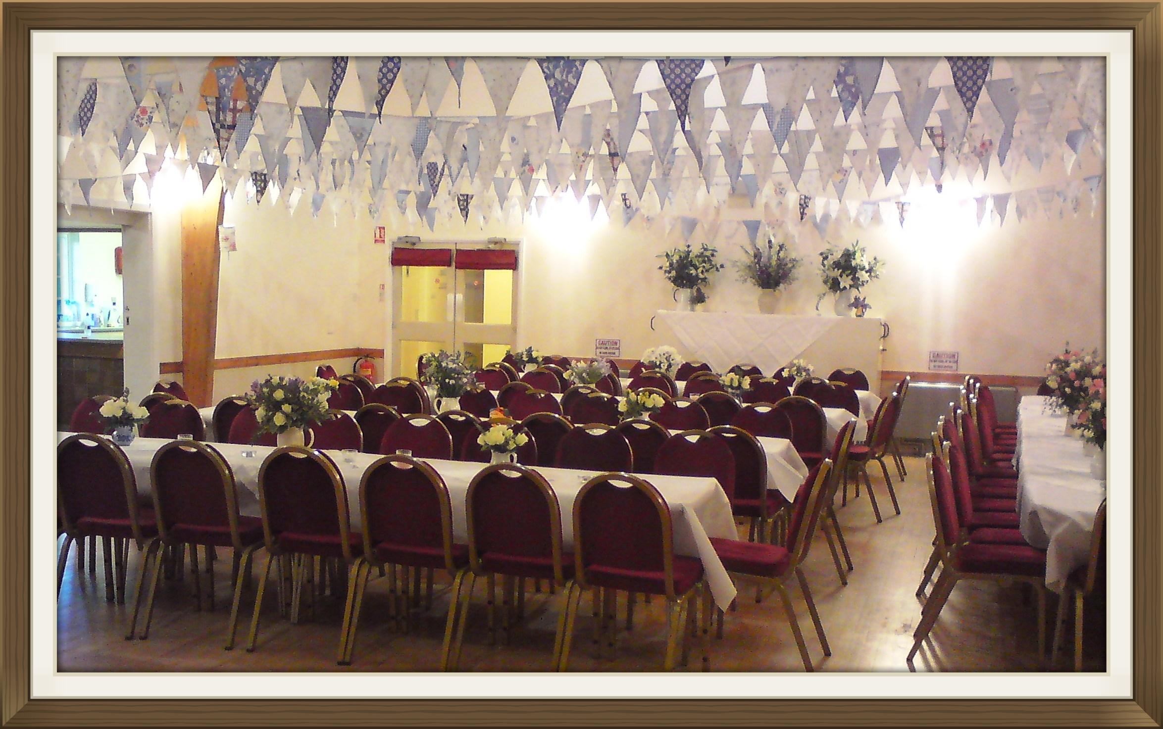 Village hall function venue