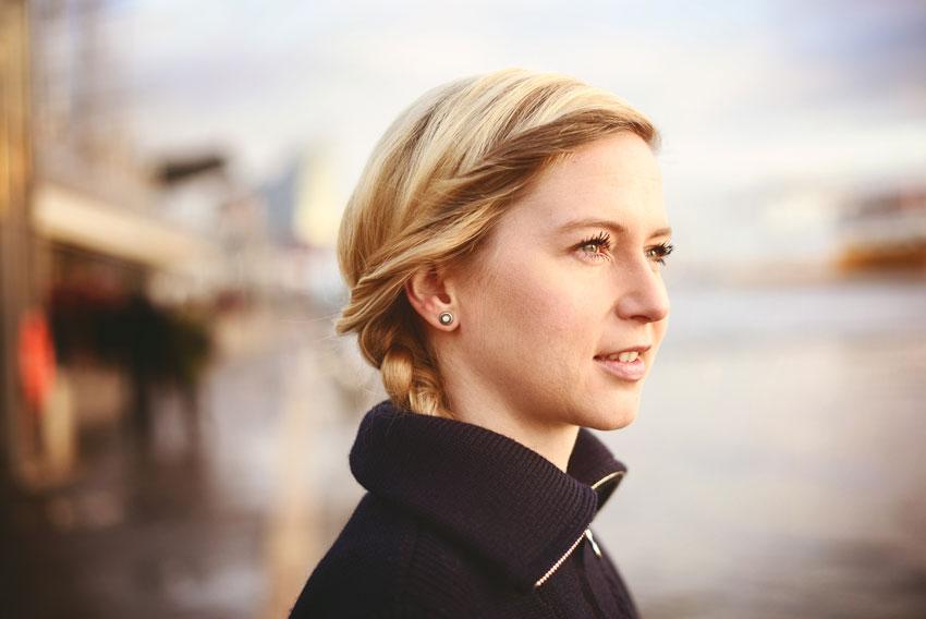 Julia von GIN SUL in ihrem Rymhart-Troyer.