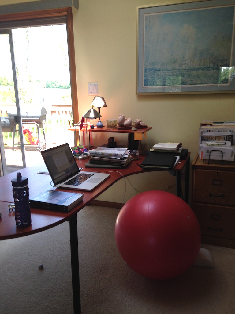 My home office.