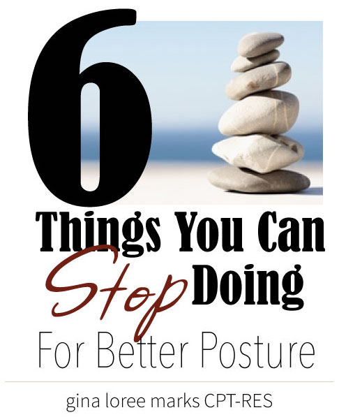 6 Things for Better Posture