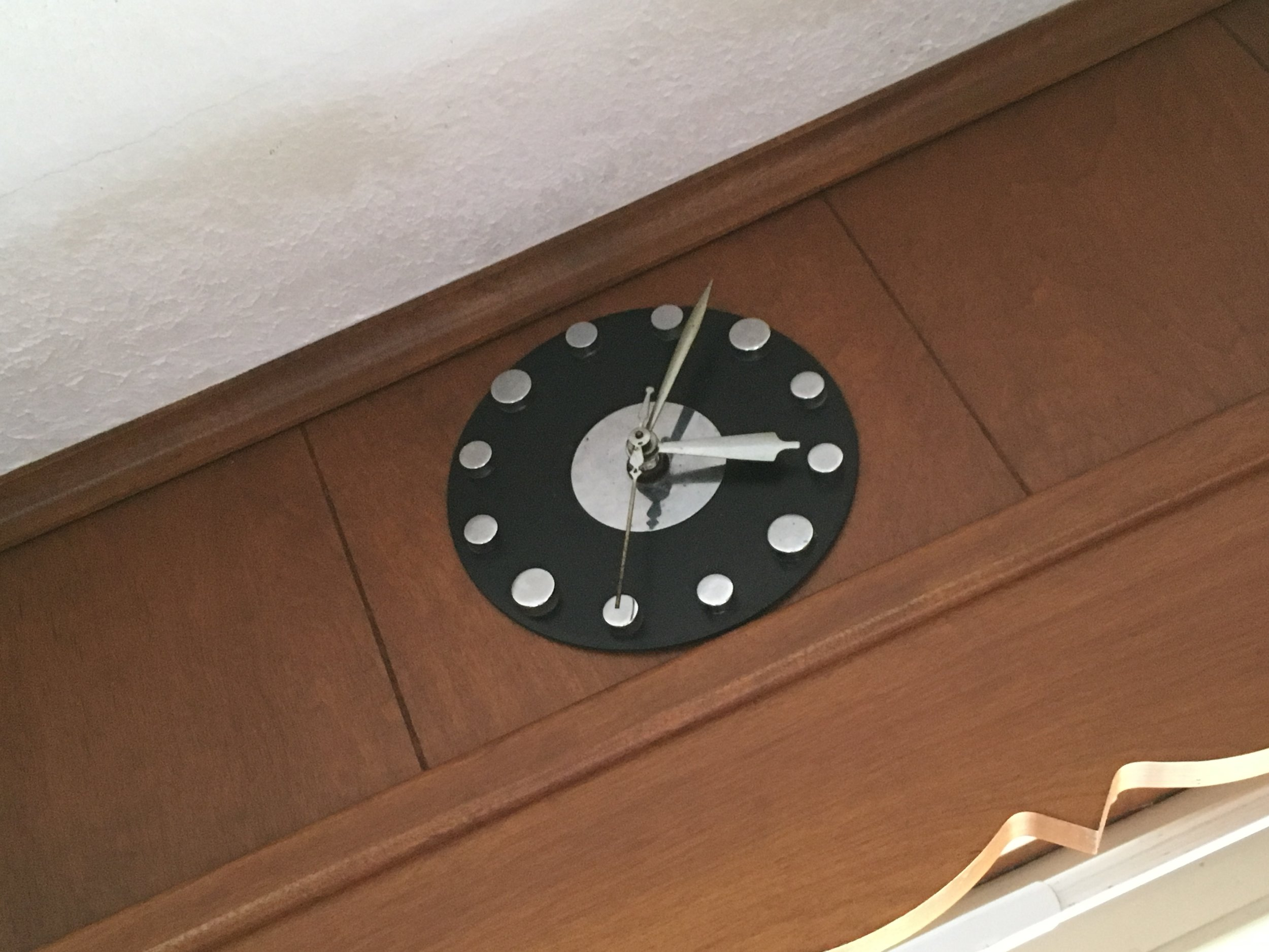 In our house, we stopped time by not fixing the broken clock.