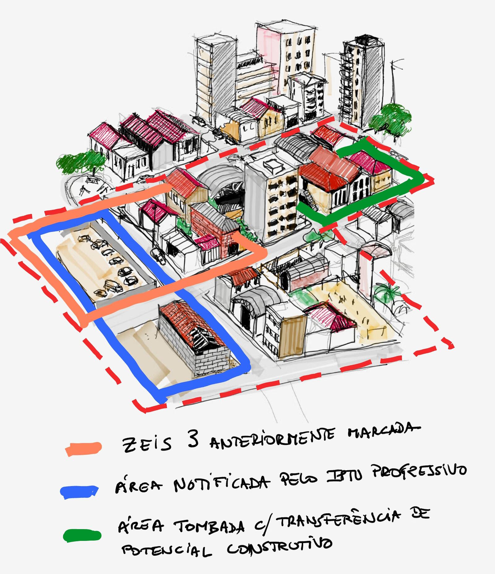 Observação da Lei de Zoneamento vigente sobre a área