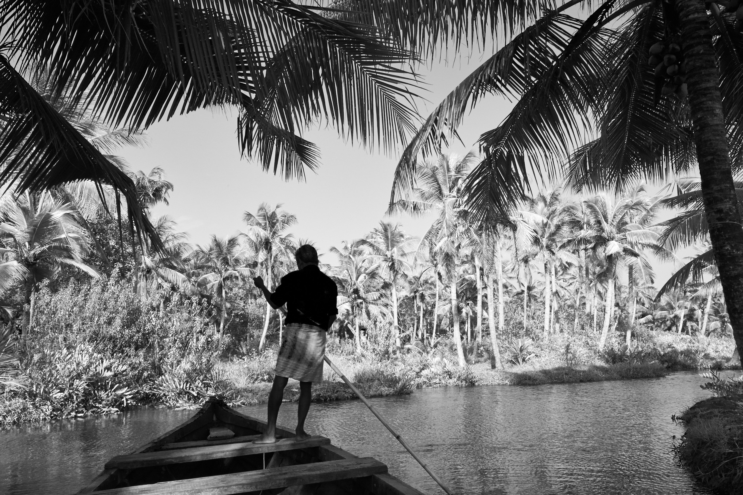 Munroe Island, Kerala.