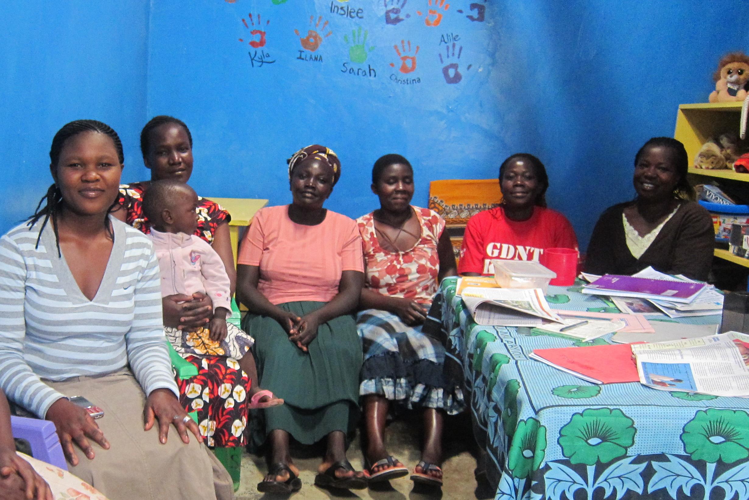 Some of the women of 'Gatwekera