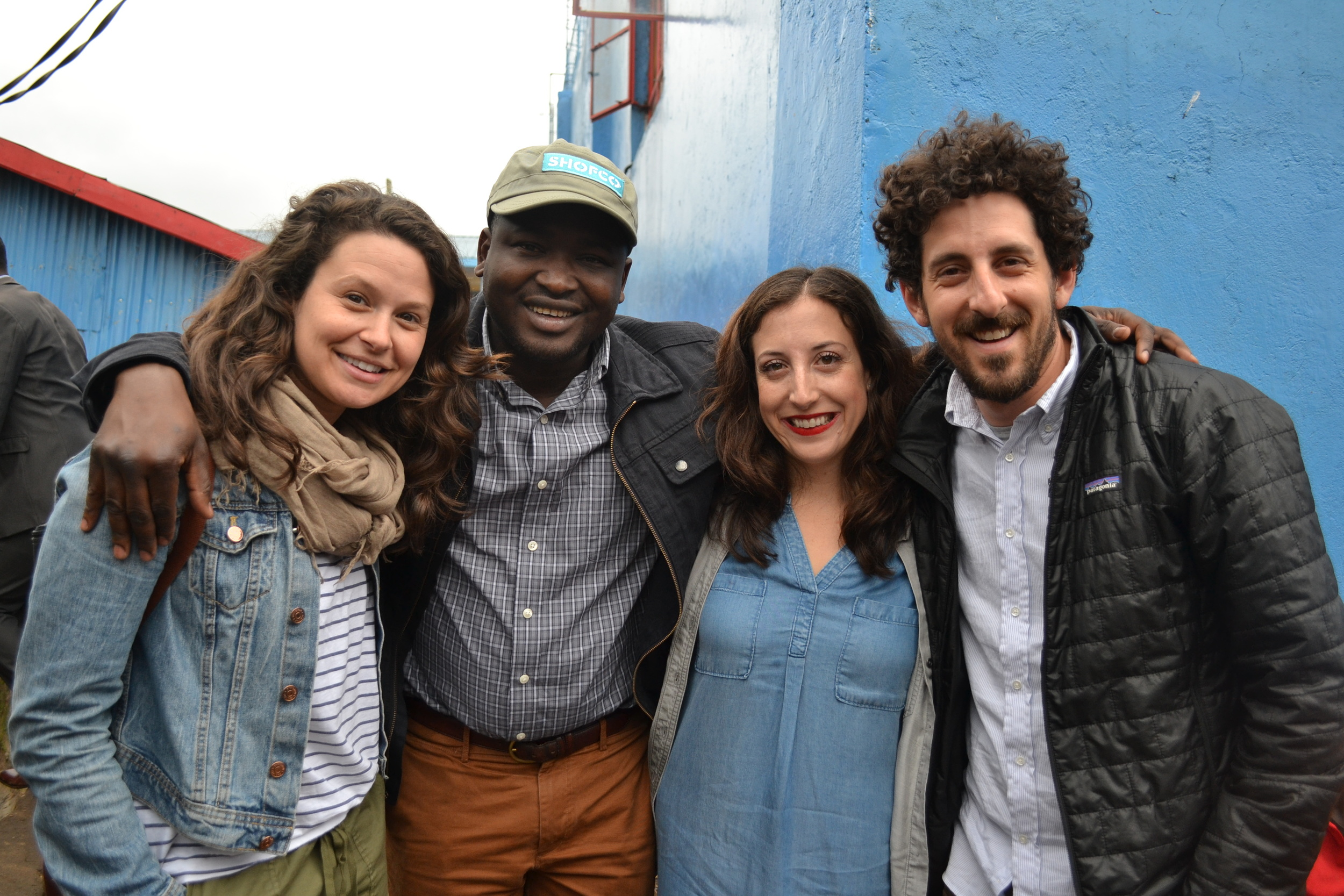 """A few weeks ago, Katie Lowes, a star on the ABC series """"Scandal"""" and her husband and actor, Adam Shapiro, visited Kibera. We're so grateful for their support!  See photos from their trip here  ."""