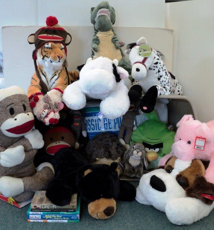 #1 Sock Monkeys & Friends, donated by Paulette S. Politsch