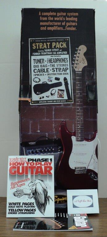 #8 All You Need to Play the Electric Guitar!, donated by: Polly Hoye