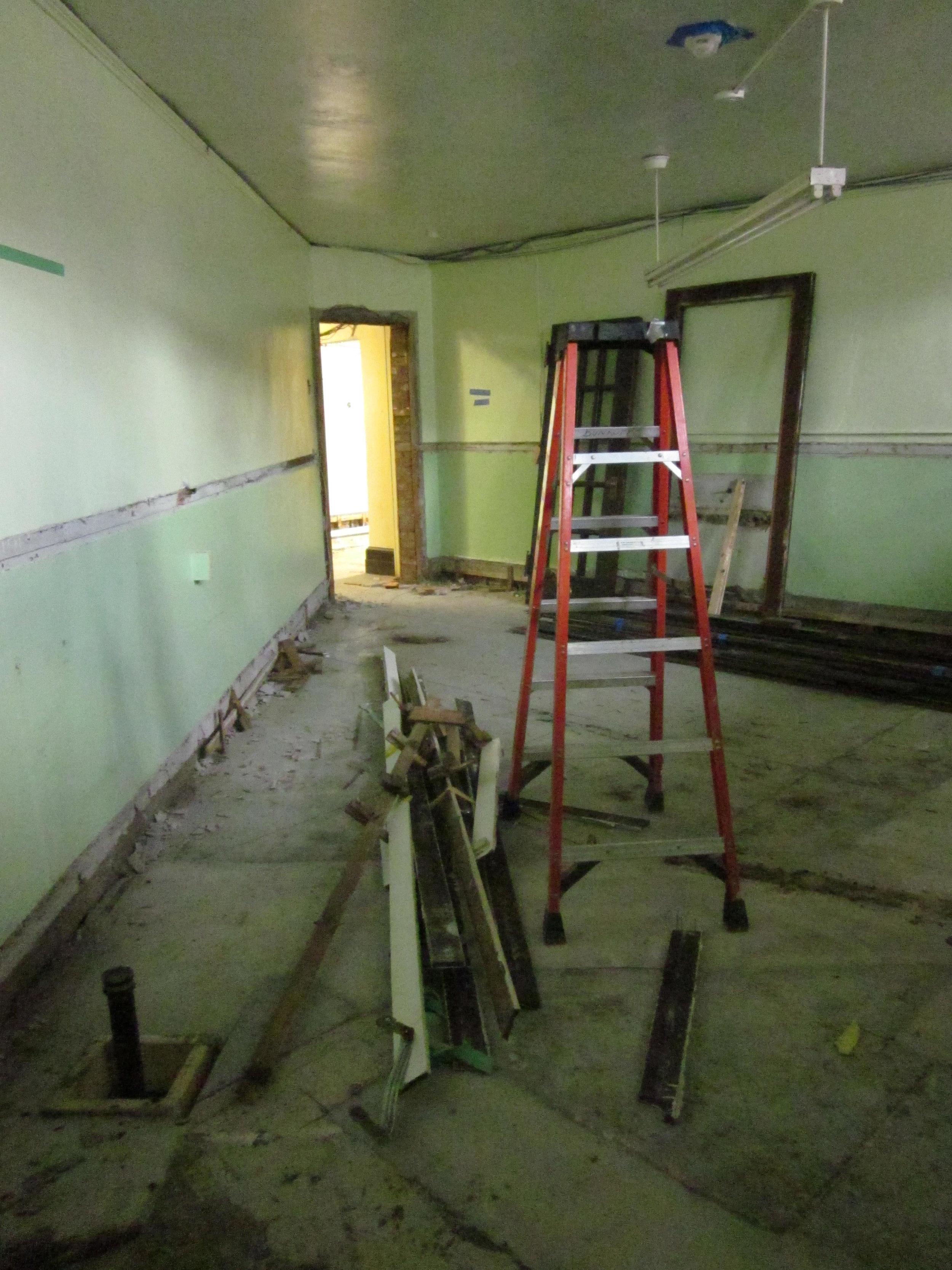 Former staff kitchen