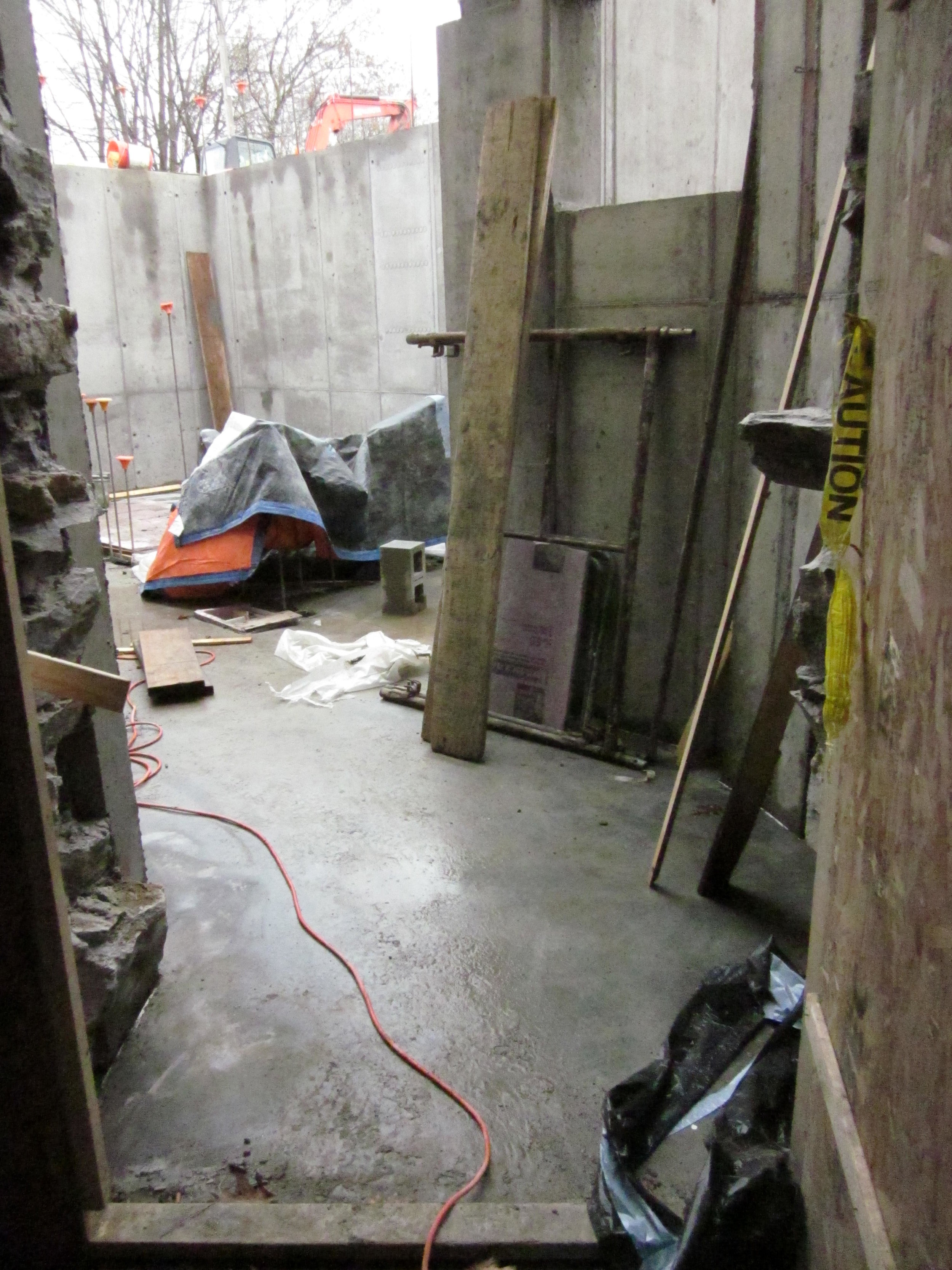 Basement of the east addition.