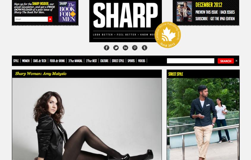 SHARP WOMAN: AMY MATYSIO