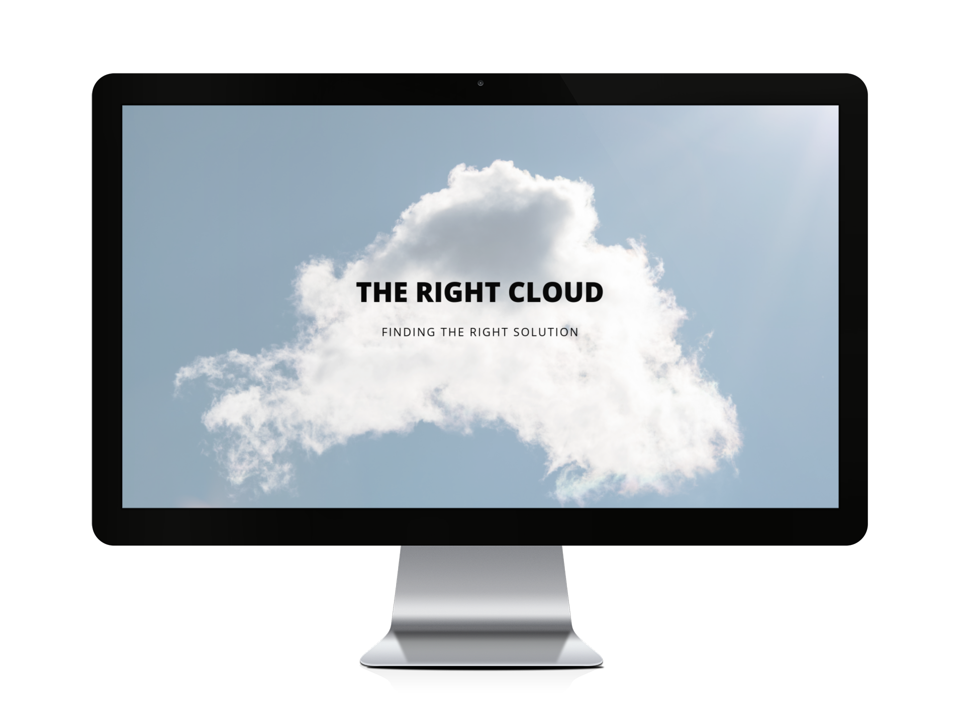 Right cloud