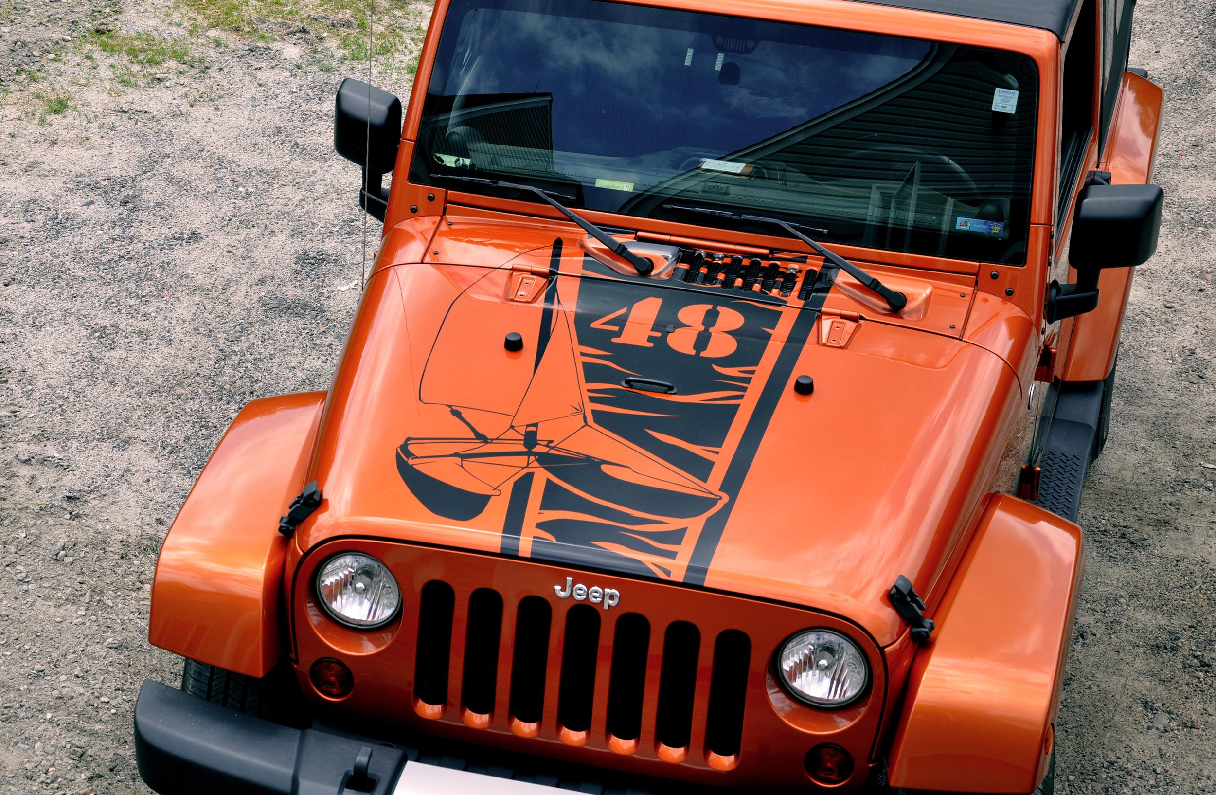 Jeep Custom Decals
