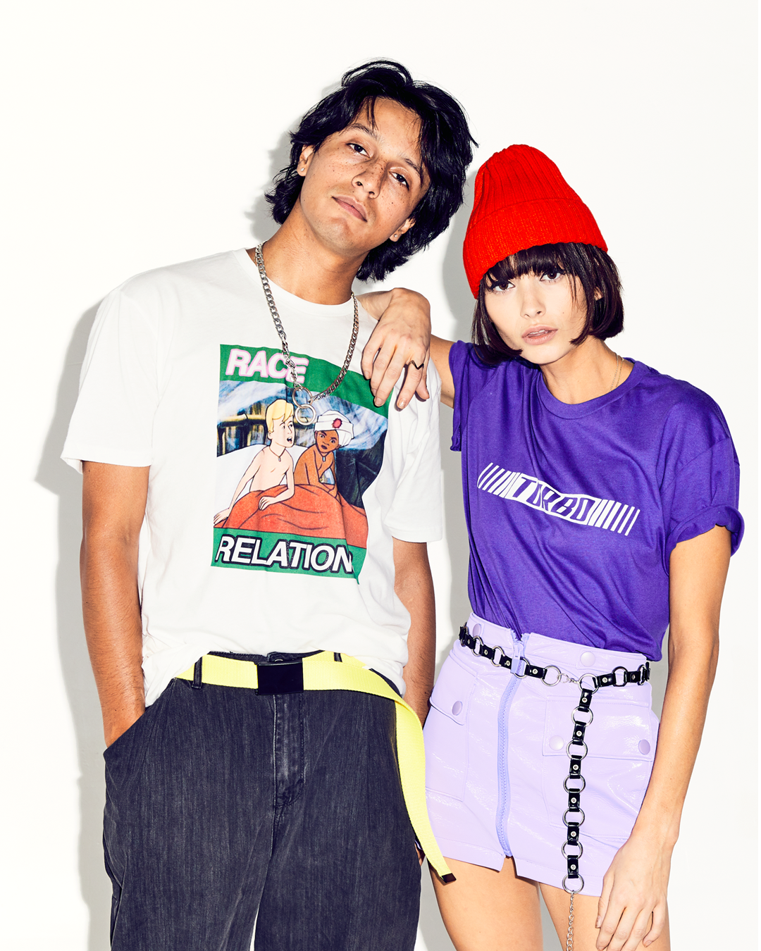 """RACE RELATIONS"" S/S TEE 