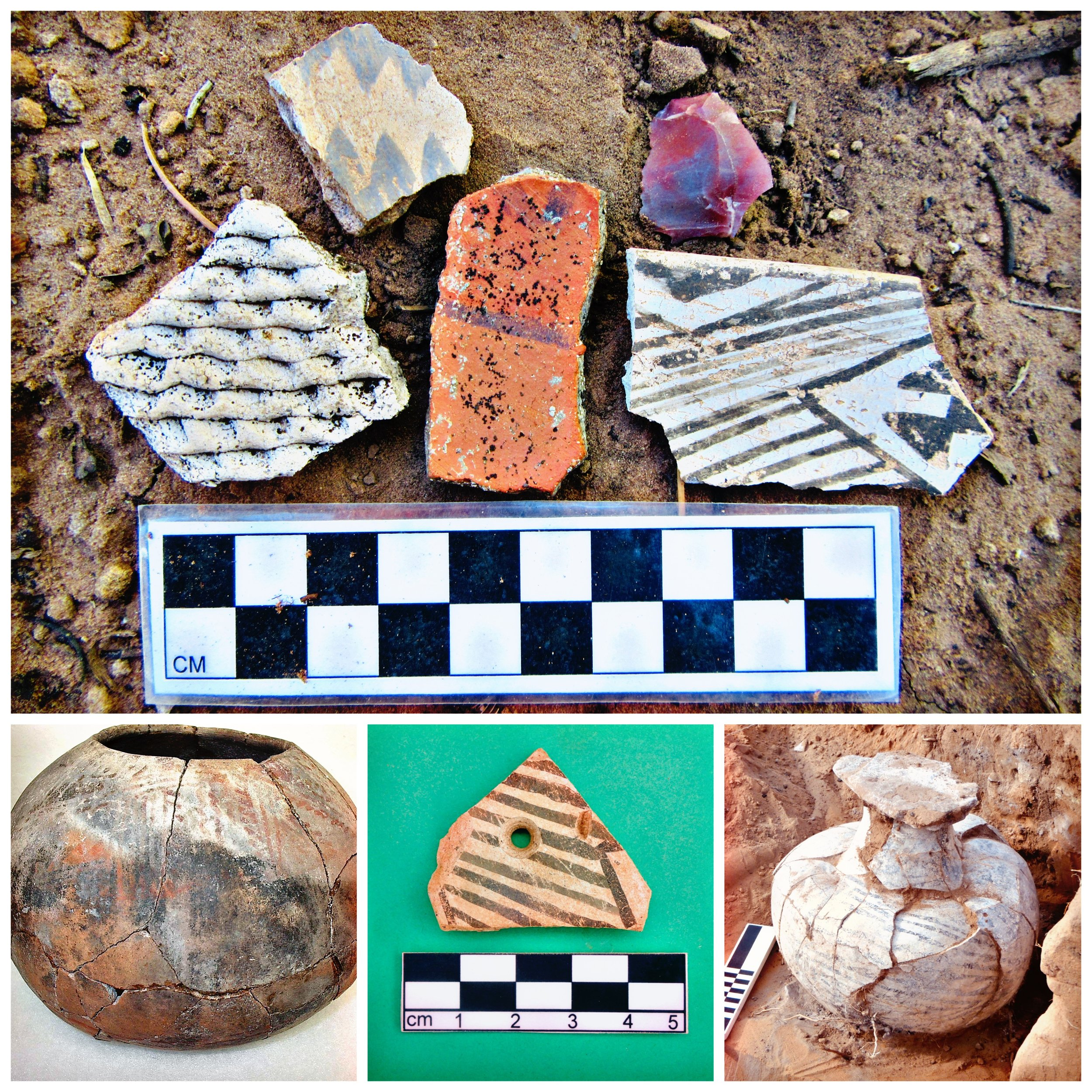 Ceramics… - are among the most valuable types of artifacts that archaeologists can find and are often used to determine when sites were occupied.
