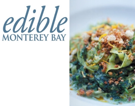 Edible Monterey Bay   Spring 2013 - Stinging Nettle Recipes by Chef Brad Briske (pages 22, 25)