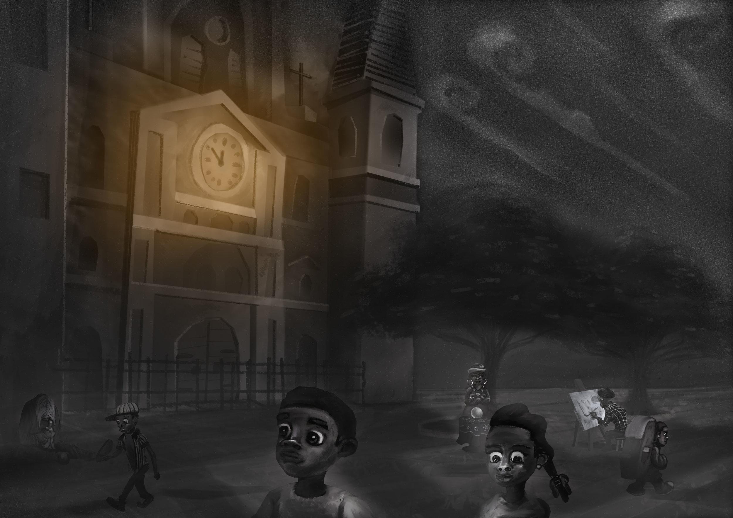 'Werewolf in New Orleans' (Scene 3)