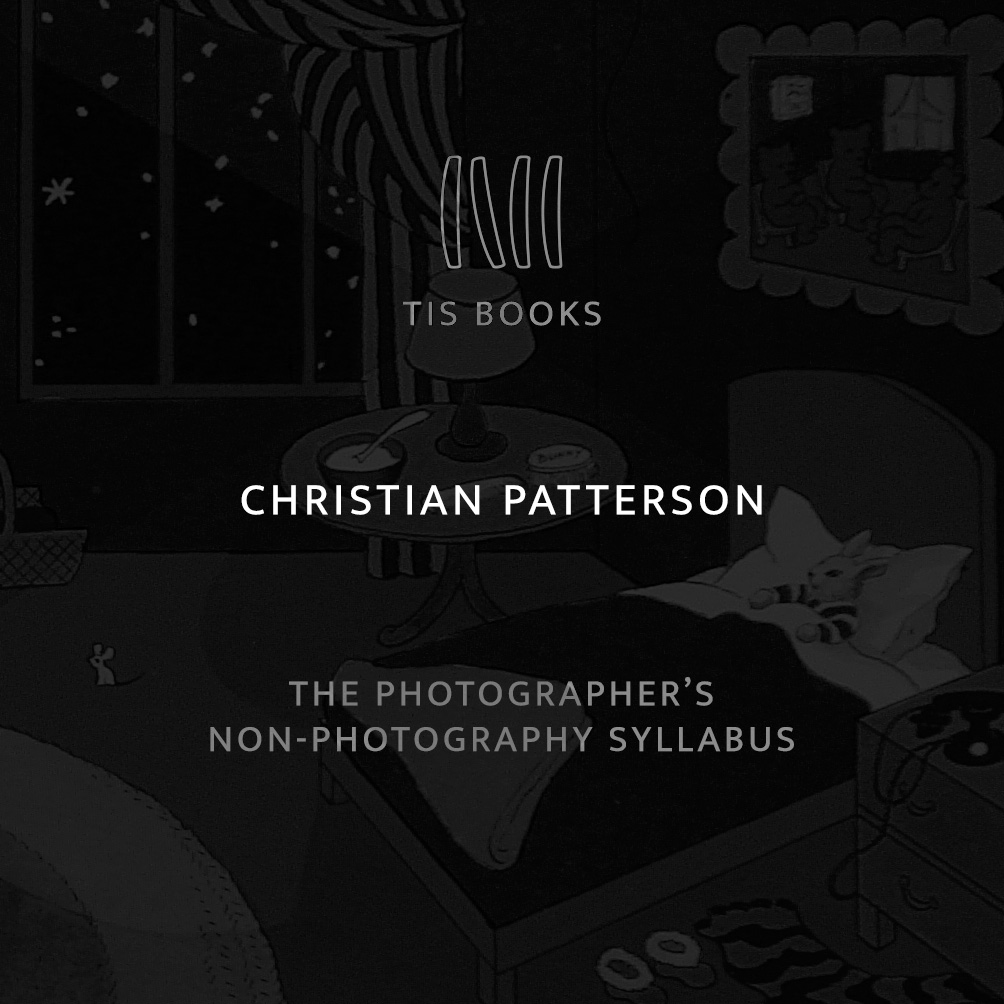 "trcarpenter :      thisissausage :     The Photographer's Non-photography Syllabus: Christian Patterson  Today we very happily launch ""The Photographer's Non-photography Syllabus,"" for which we asked a number of folks to share with us the five or so books that they would recommend to other photographers. Fiction or non-, novels, plays, poems, whatever (even records or films) – the only rule is NO PHOTOBOOKS.  Our first contributor is   Christian Patterson  , whose new book   Bottom of the Lake   will be published in a trade edition by König Books later this summer.  ——————————————————————————   The story of my life in five books:    Hammer of the Gods  by Stephen Davis High school. Sex, drugs and rock 'n roll. Fight the horde, sing and cry, Valhalla, I am coming!   Lolita  by Vladamir Nobokov College. She was young. It was fun while it lasted.    Low Life  by Luc Sante Life in New York. The dark and dirty city. The pointedly perfect language of a fellow digger and obsessive.   It Came from Memphis  by Robert Gordon Life in Memphis. The eclectic art and music underground of a great, wild city.   Goodnight Moon  by Margaret Wise Brown and Clement Hurd Fatherhood. Ageless, timeless. Images and words, artful and interdependent, rhythmic and perfect.   ——————————————————————————  Thanks, Christian. We're glad to have your list to debut the Syllabus. Next up: Mark Steinmetz. Keep checking back for more!     Check out the latest thing we've been working on. Super-psyched to have Christian as our first contributor!"