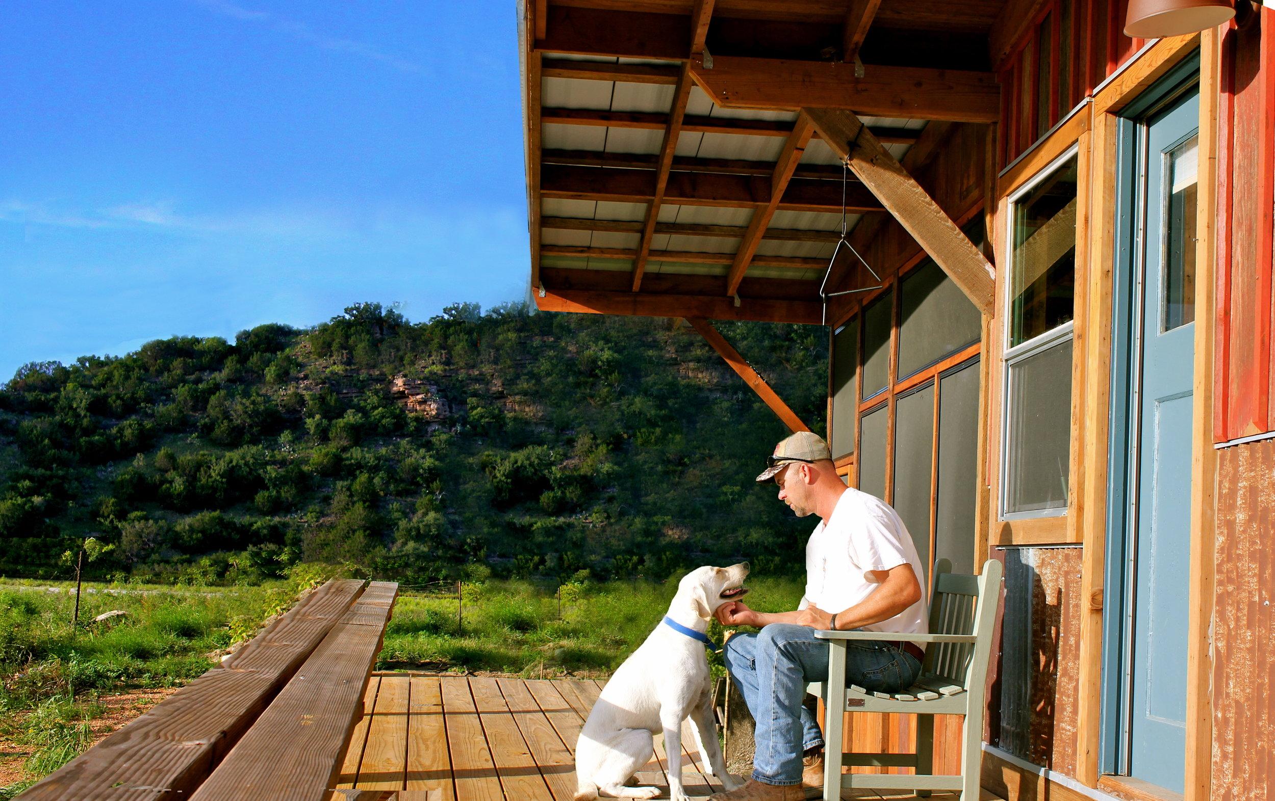 Owner Tracen Gardner and his K9 Lyla