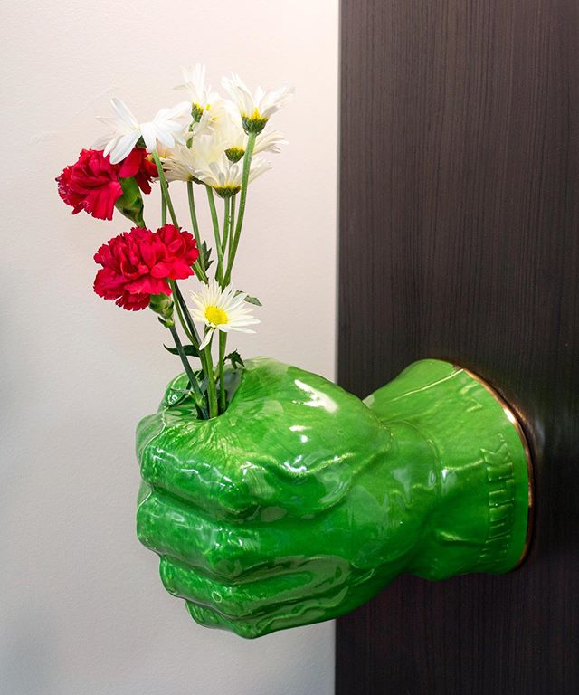 I think I made a run of these 4 years ago...could have been longer. These last two years have gone by in the blink of an eye. They're @timsceramics favorite piece that I've ever made, a Re-contextualized foam hulk hand. Hangs on the wall and holds water. I always thought they were simple and fun. Like everything I've ever made, I need to make more someday. #hulk #hulkhand #incrediblehulk #marvel #mcu #brettkernportfolio