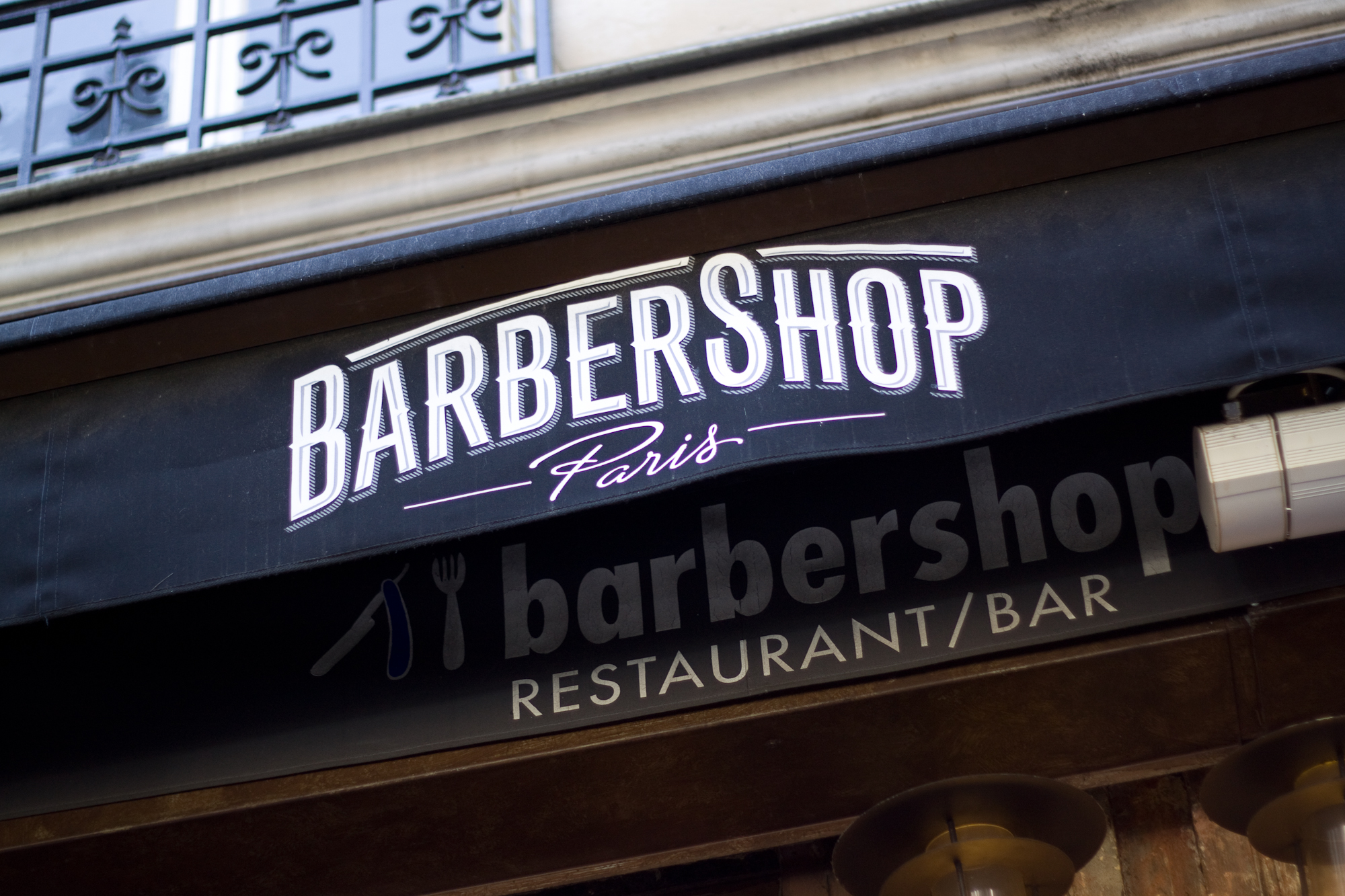 barbershop paris brunch