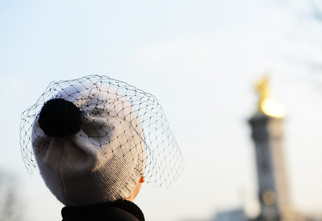 Veiled hats