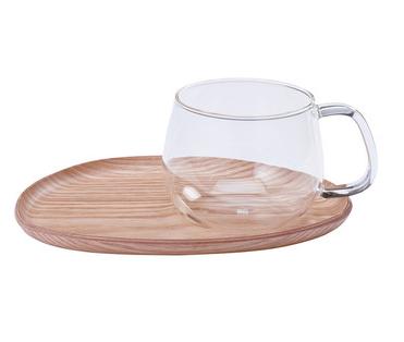 Fika Cafe Set Wood Glass by KINTO.png
