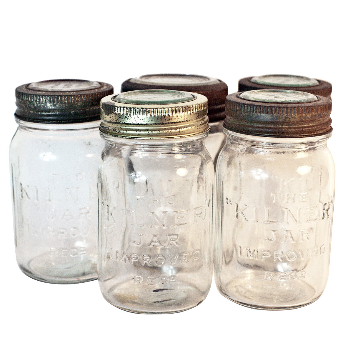 Vintage Kilner Jar Set Of 5 by In with the Old.png