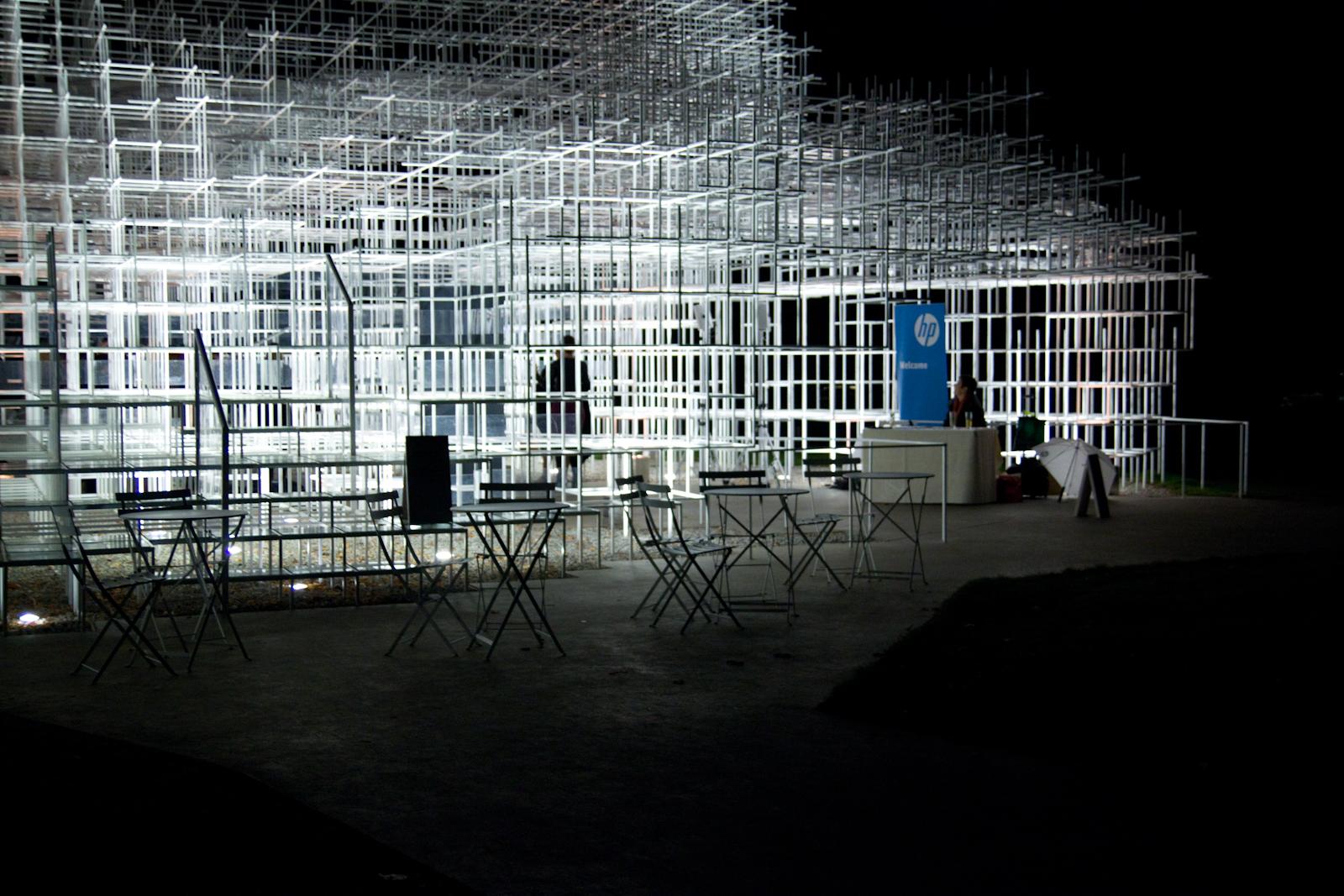 8pm - Serpentine Gallery Pavilion 2013Designed by Sou Fujimoto