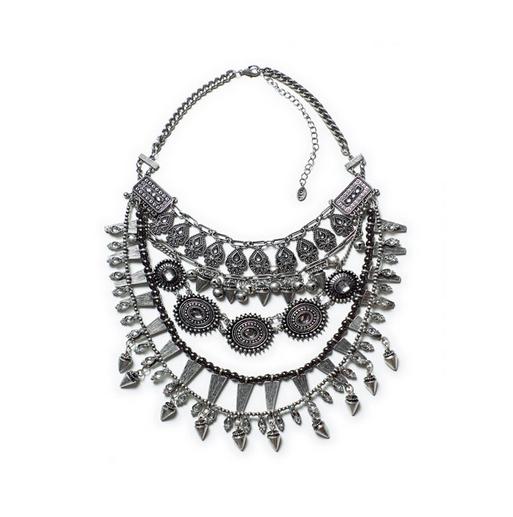 Zara necklace with stones