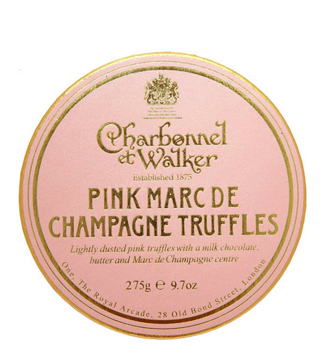 Charbonnel et Walker champagne truffles