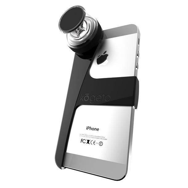 Dot Panorama Phone Lens Black II by Kogeto