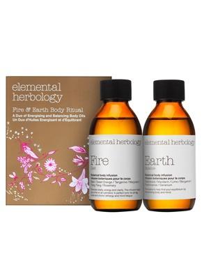 Elemental Herbology Fire & Earth Body Duo