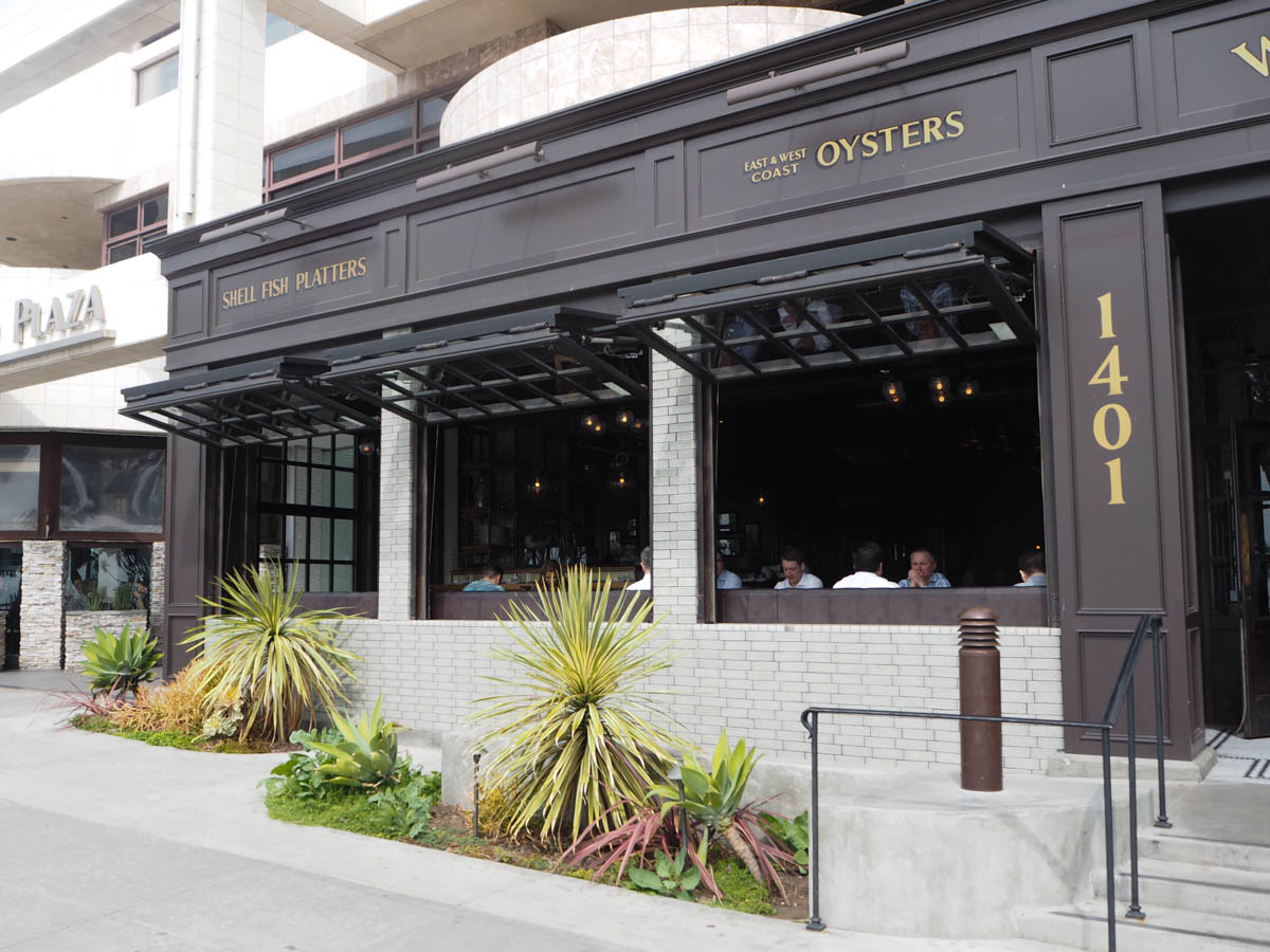 Watergrill restaurant Santa Monica