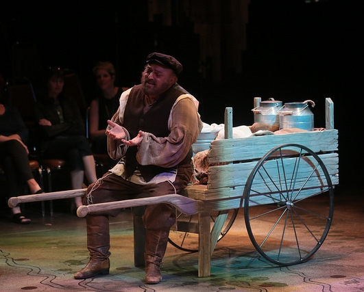 "Tevye (Peter Kevoian) in ""Rich Man"""
