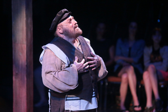 Fiddler On The Roof    Music by: Jerry Bock Lyrics by: Sheldon Harnick and Book by: Joseph Stein   Produced by: Arkansas Shakespeare Theatre at Reynolds Performance Hall, 2015,  Director : Jeremy Williams,  Music Director : Mark Binns,  Scenic Designer : Jeffrey Kmiec,  Costume Designer : Natalie Loveland,  Lighting Designer : Greg Freeman,  Sound Designer : Ryan Hopper,  Properties Designer : Shana Solomon,  Photographer : Avery Moorehead