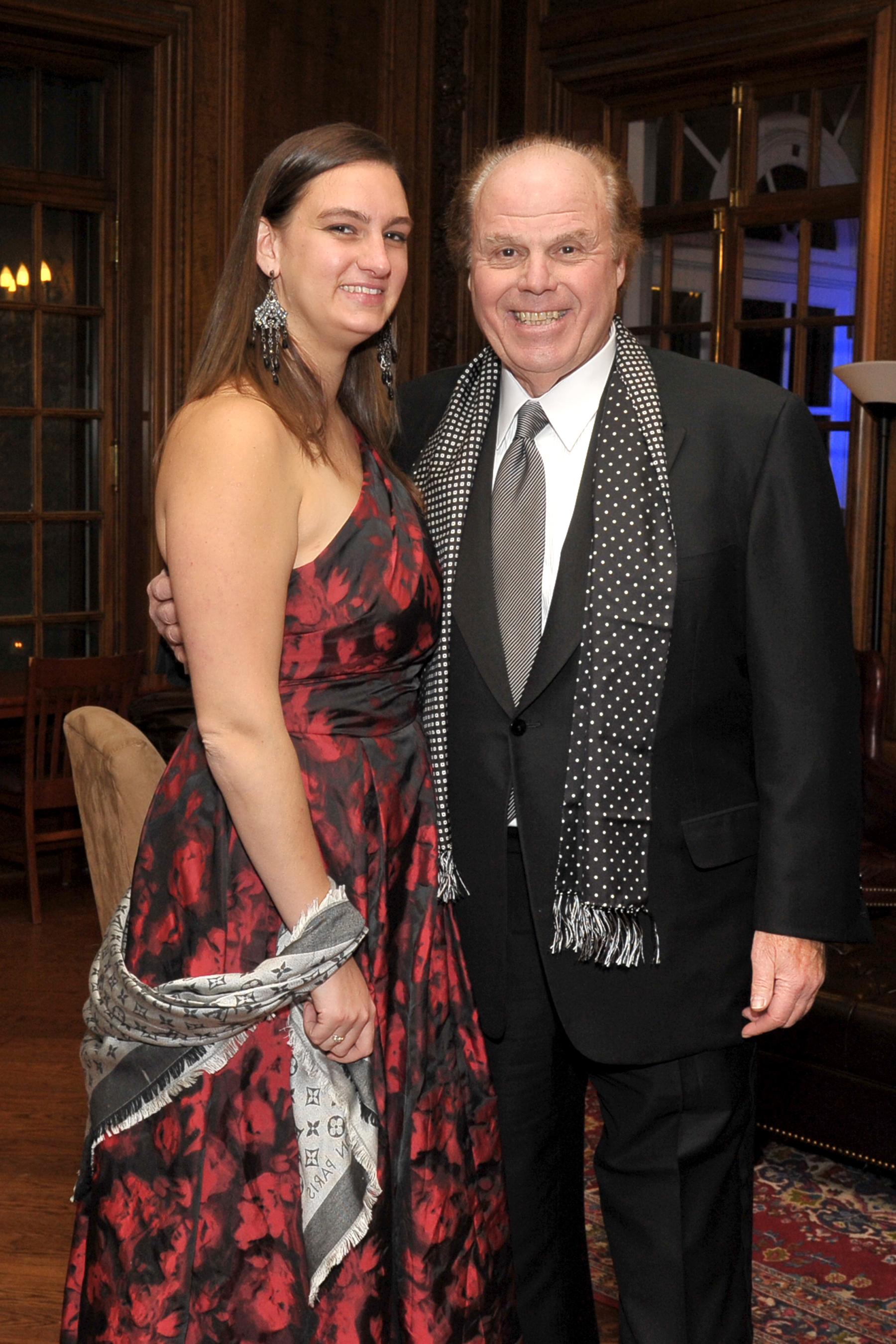 Raymond Frick and daughter Samantha Frick