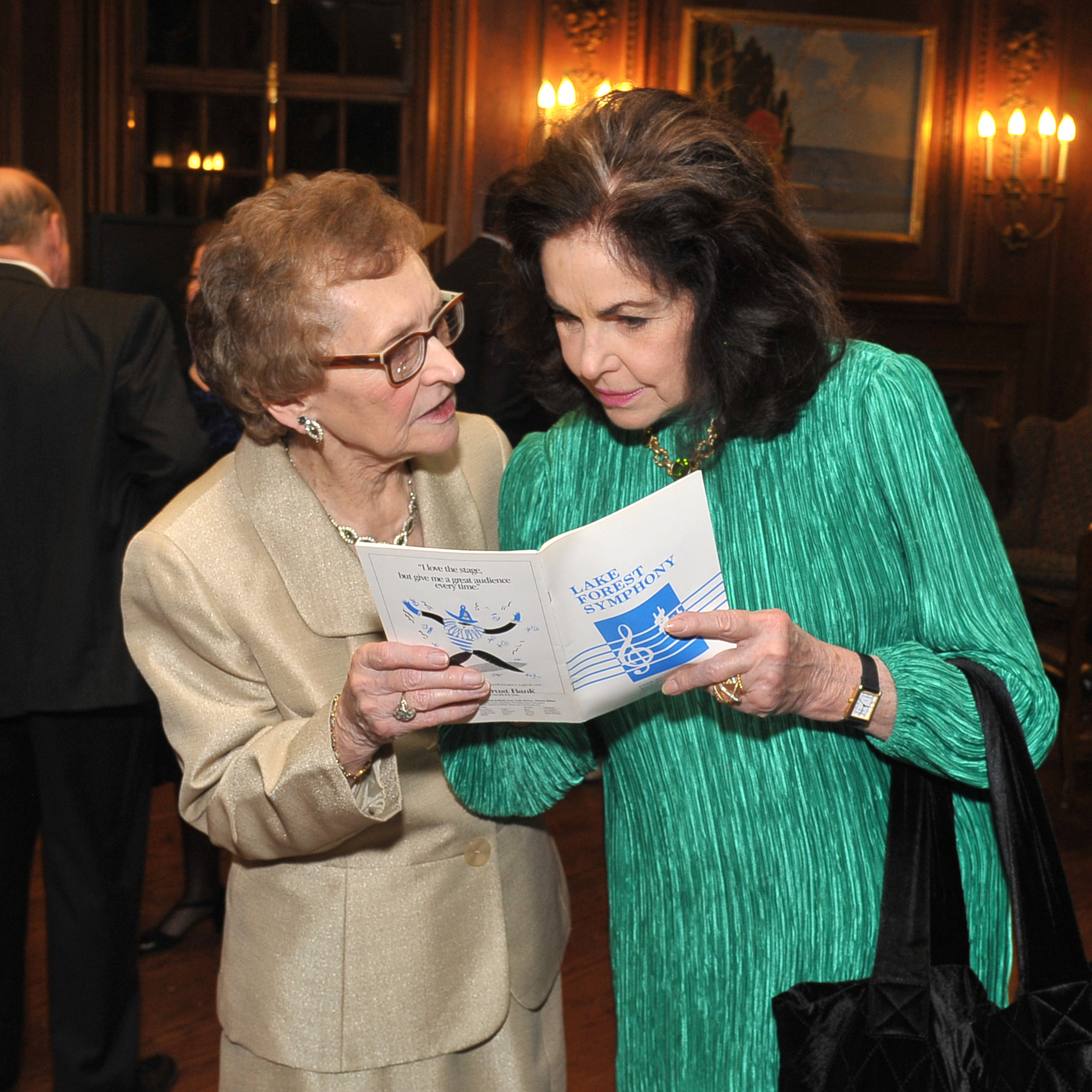 Betty Benton and Caroline Douglas reminisce on LFS programs from the past