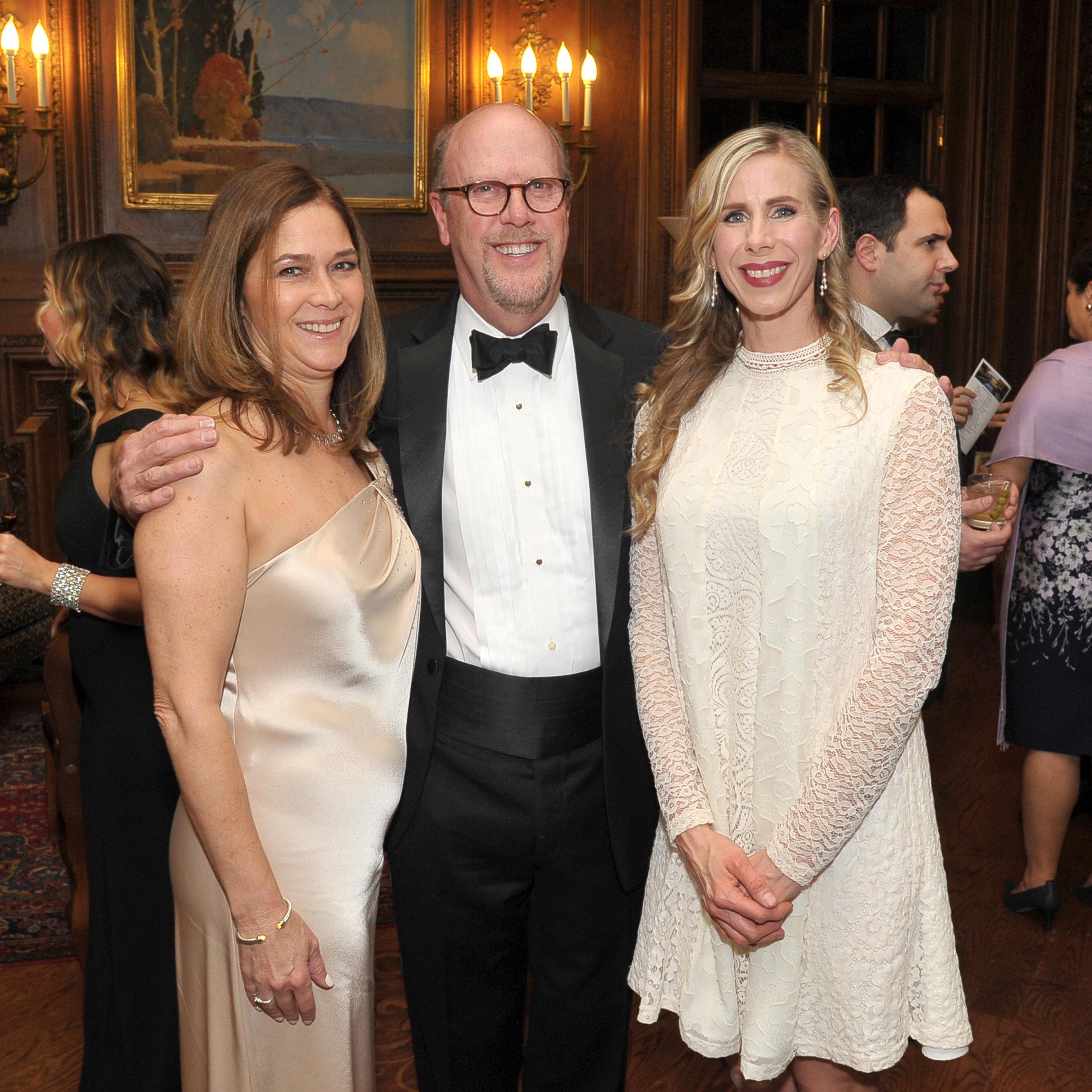Ann Franzese, Stewart Kerr and Nicole Putman