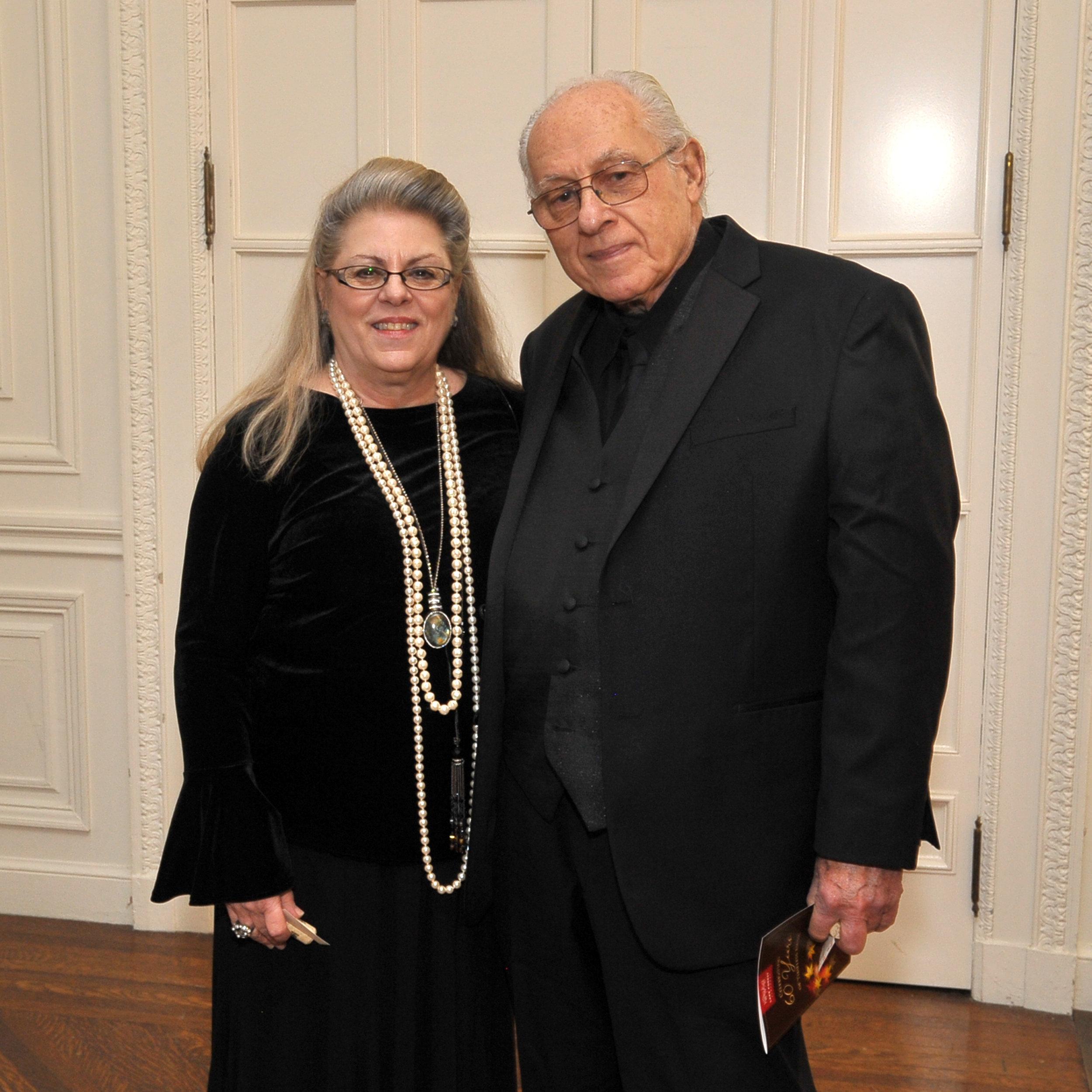 Gail McGrath and Sheldon Levin