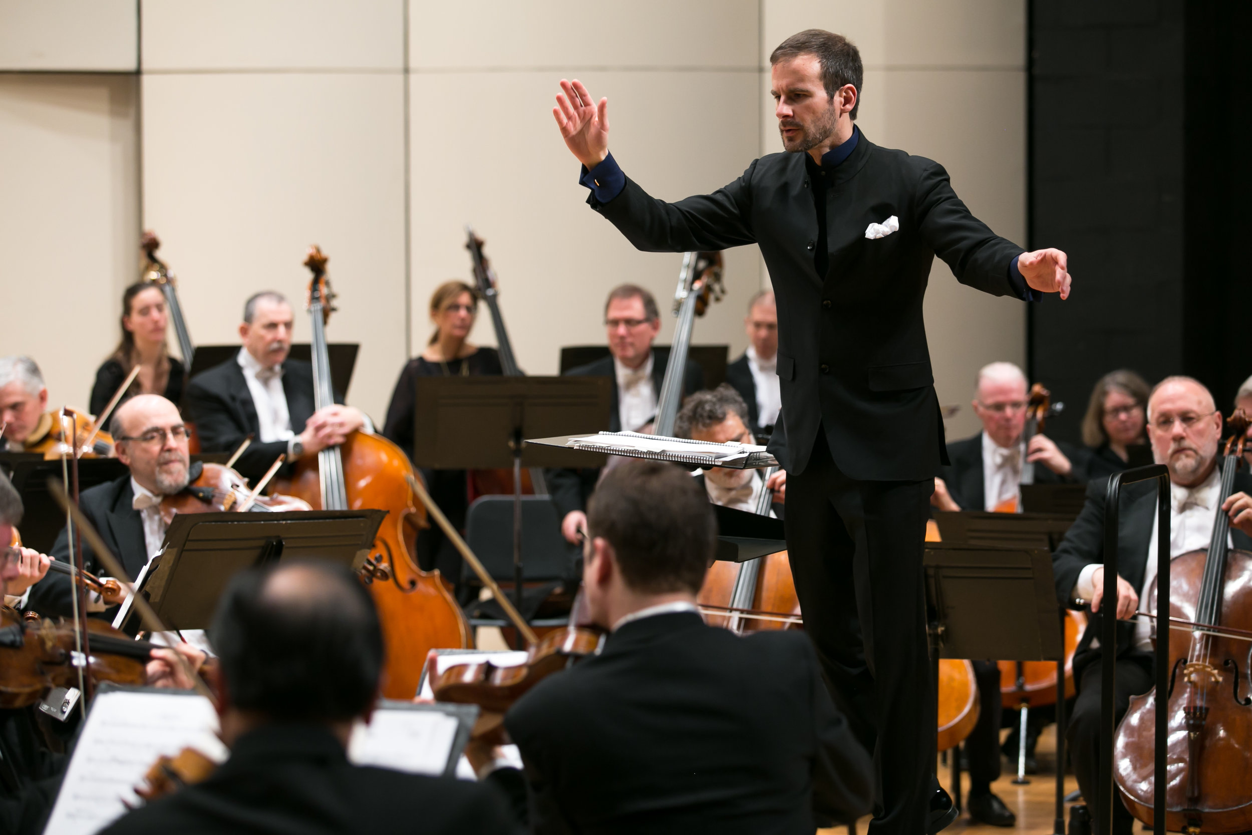 1) Conduct the Orchestra