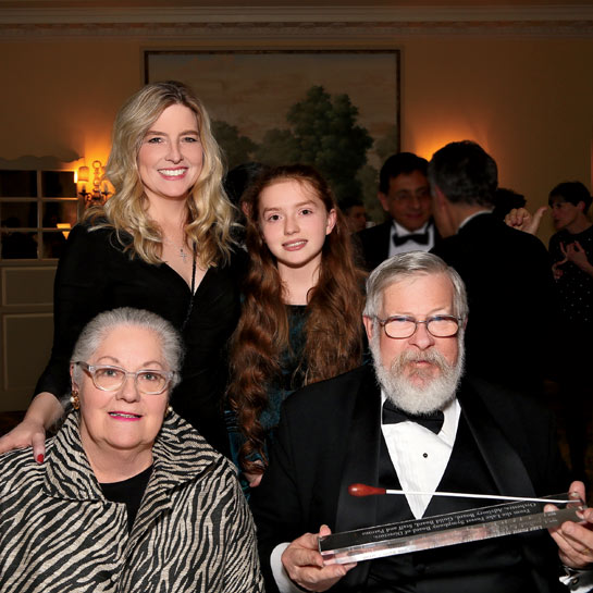 Barbara & Barry Carroll, Karen with Ciara Carroll