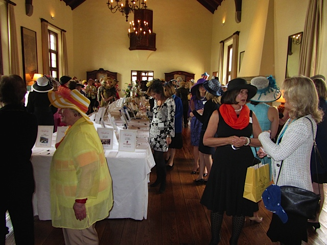2015 Mad Hatter Luncheon at Onwentsia
