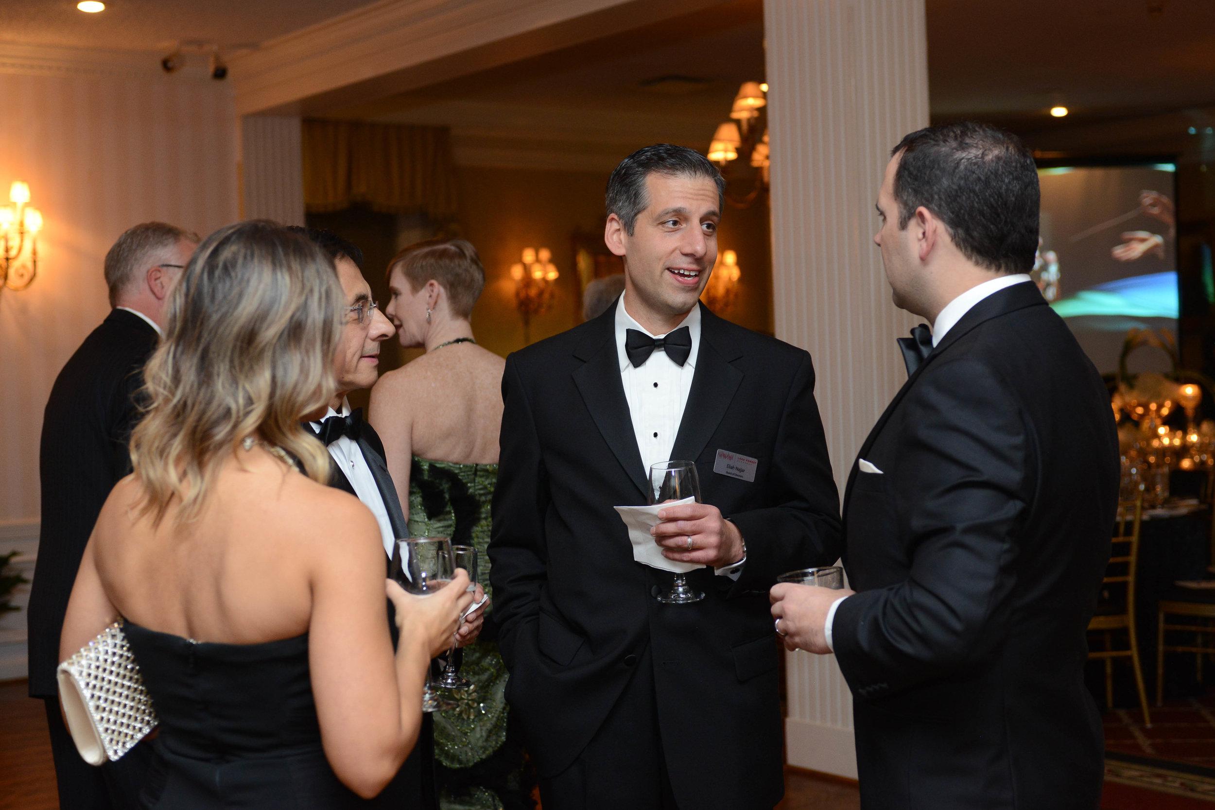 Board Members Hector Rasgado-Flores, Eliah Najjar, Josh Jackson, and his wife Racquel.
