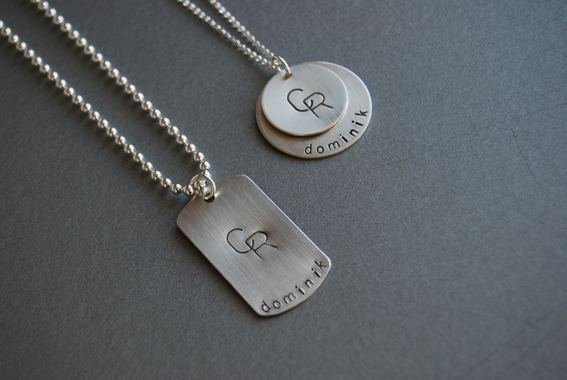 "Set of an example of personalized ""couples"" pieces"